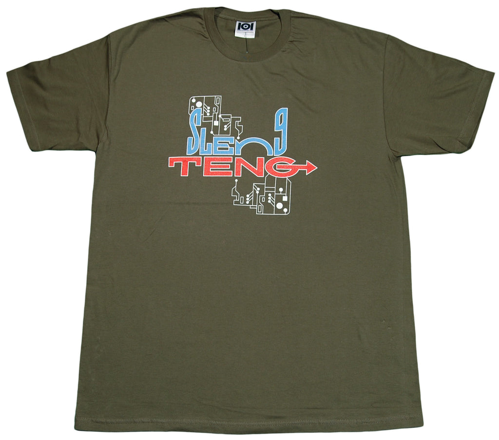 <!--2012011002-->101 Apparel - 'Sleng Teng' [(Dark Green) T-Shirt]
