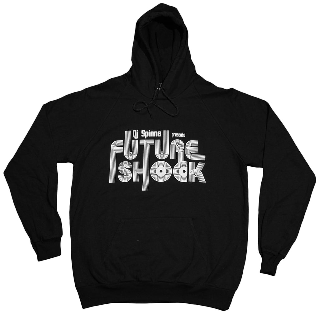 <!--2012011048-->101 Apparel x DJ Spinna - 'Future Shock' [(Black) Hooded Sweatshirt]