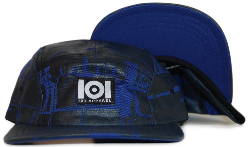<!--2011101840-->101 Apparel - 'Sound System Rockers' [(Dark Blue) Five Panel Camper Hat]