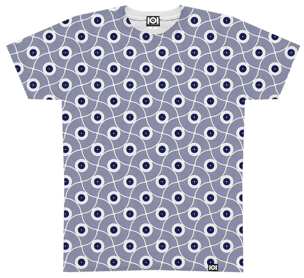 <!--2014080813-->101 Apparel - 'Vinyl 01' [(Dark Blue) T-Shirt]
