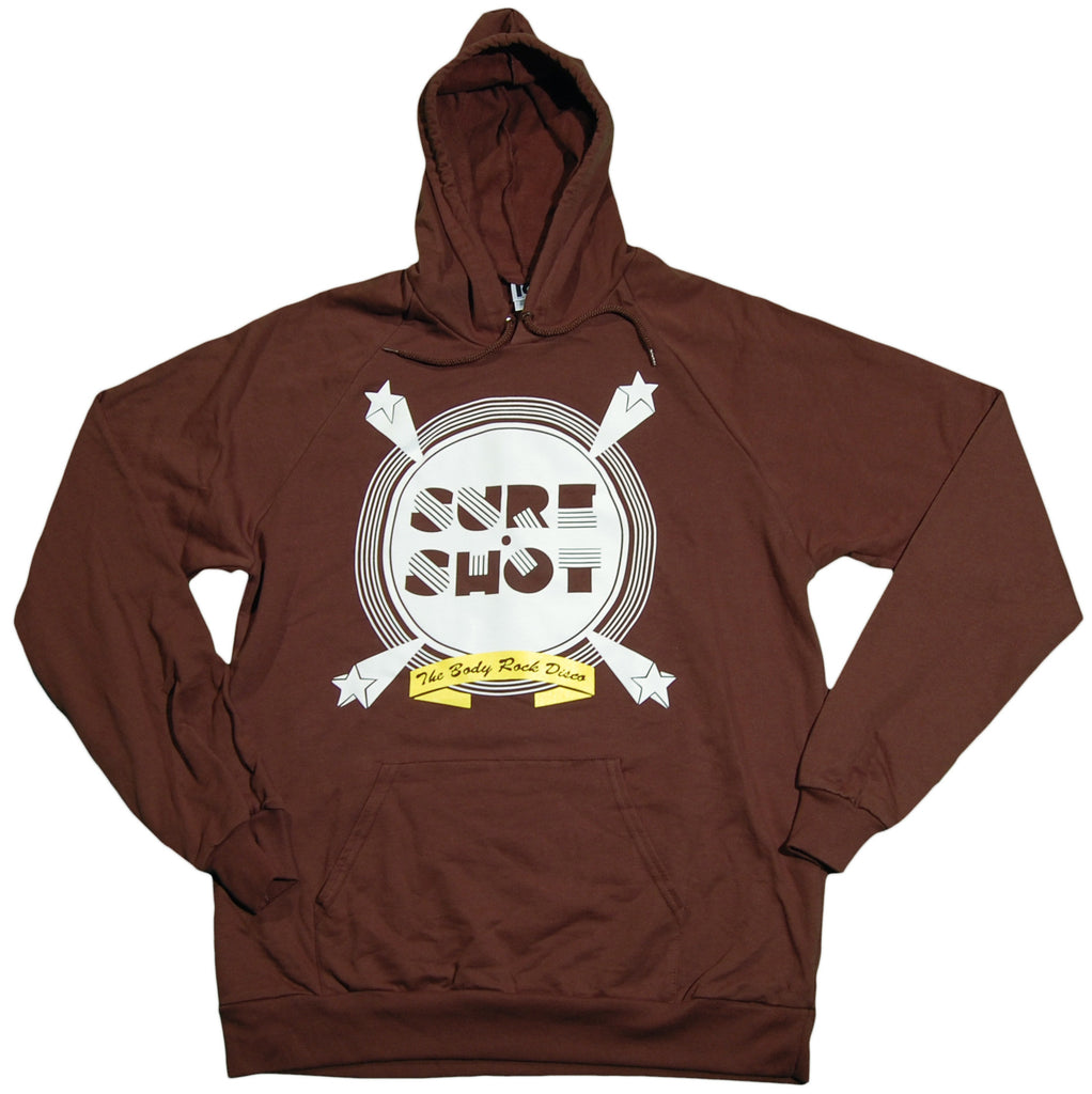 <!--2011053104-->101 Apparel - 'Sure Shot' [(Brown) Hooded Sweatshirt]