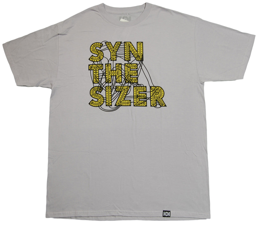 <!--2013080656-->101 Apparel - 'Synthesizer' [(Light Gray) T-Shirt]