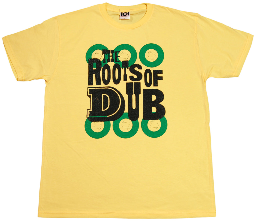 <!--2012011051-->101 Apparel - 'The Roots Of Dub' [(Light Yellow) T-Shirt]