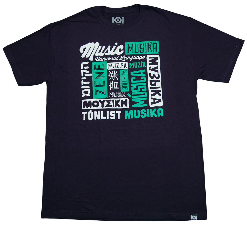 <!--2013021942-->101 Apparel - 'Universal Language' [(Dark Blue) T-Shirt]