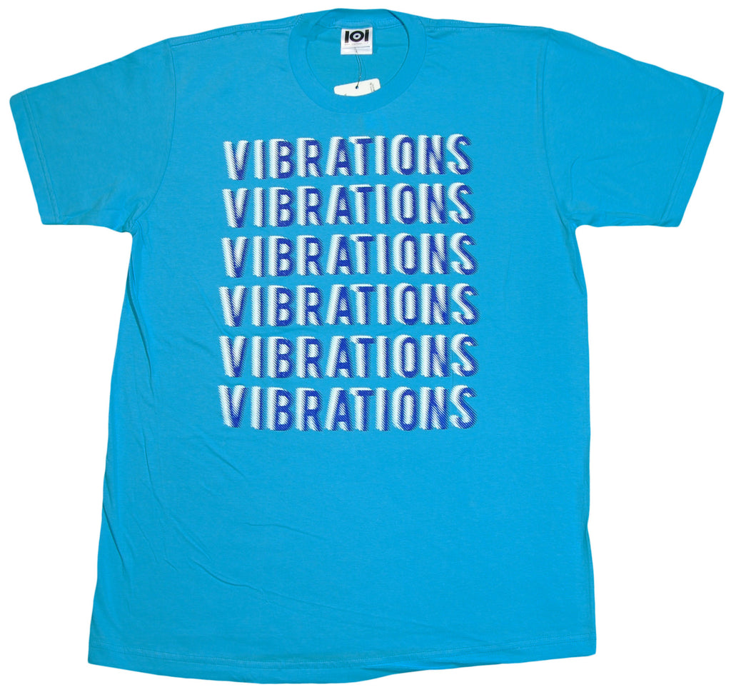 <!--2012011018-->101 Apparel - 'Vibrations' [(Light Blue) T-Shirt]