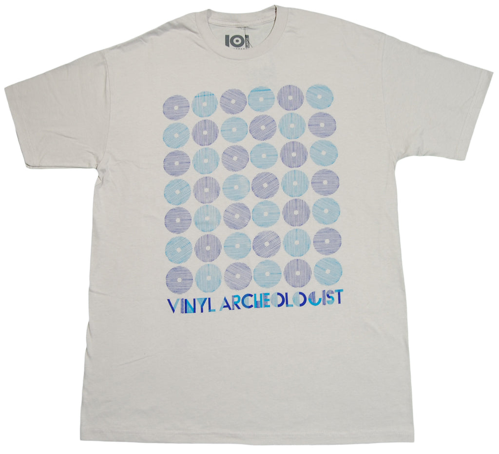 <!--2012071701-->101 Apparel - 'Vinyl Archeologist' [(Light Gray) T-Shirt]