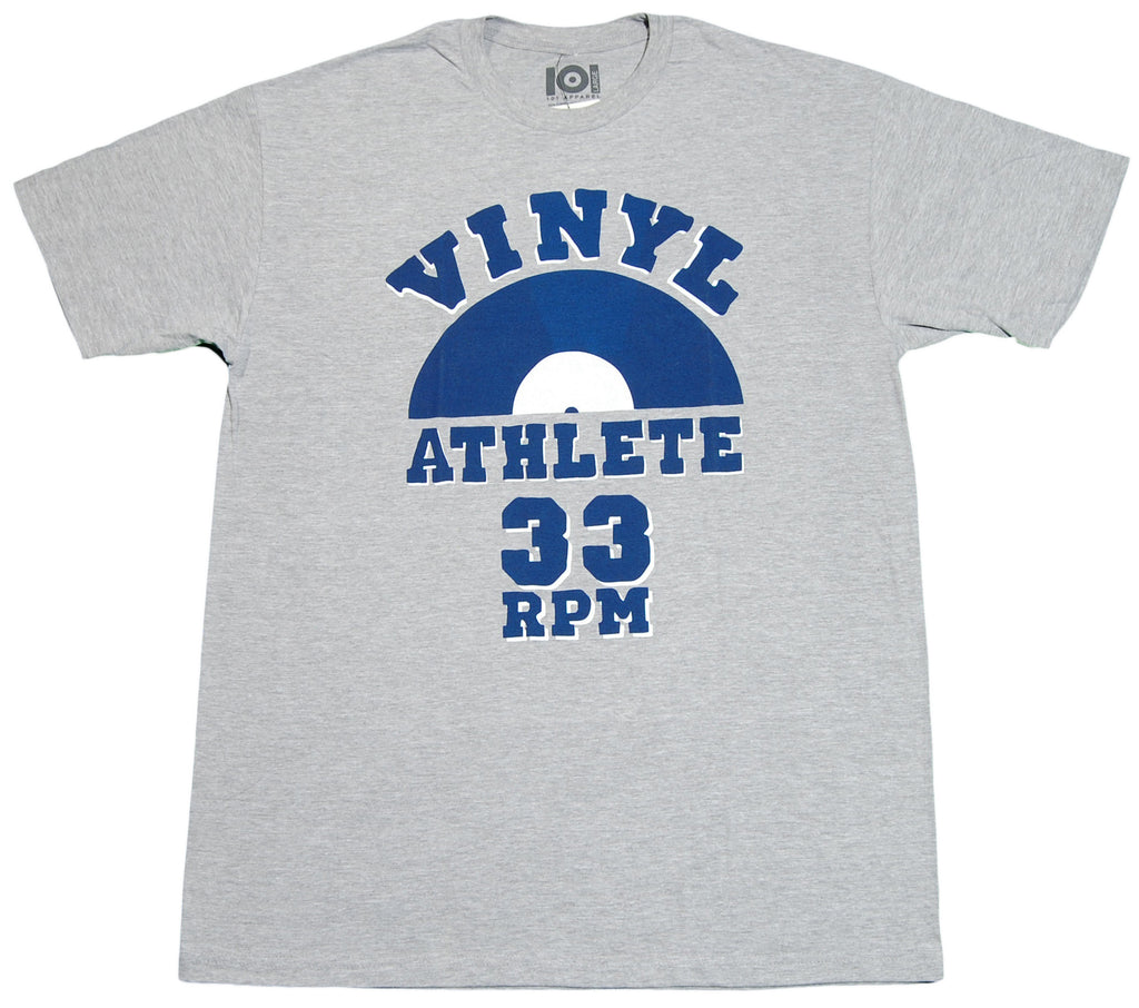 <!--2012071748-->101 Apparel - 'Vinyl Athlete' [(Gray) T-Shirt]