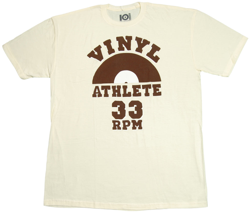 <!--2012071742-->101 Apparel - 'Vinyl Athlete' [(Natural) T-Shirt]