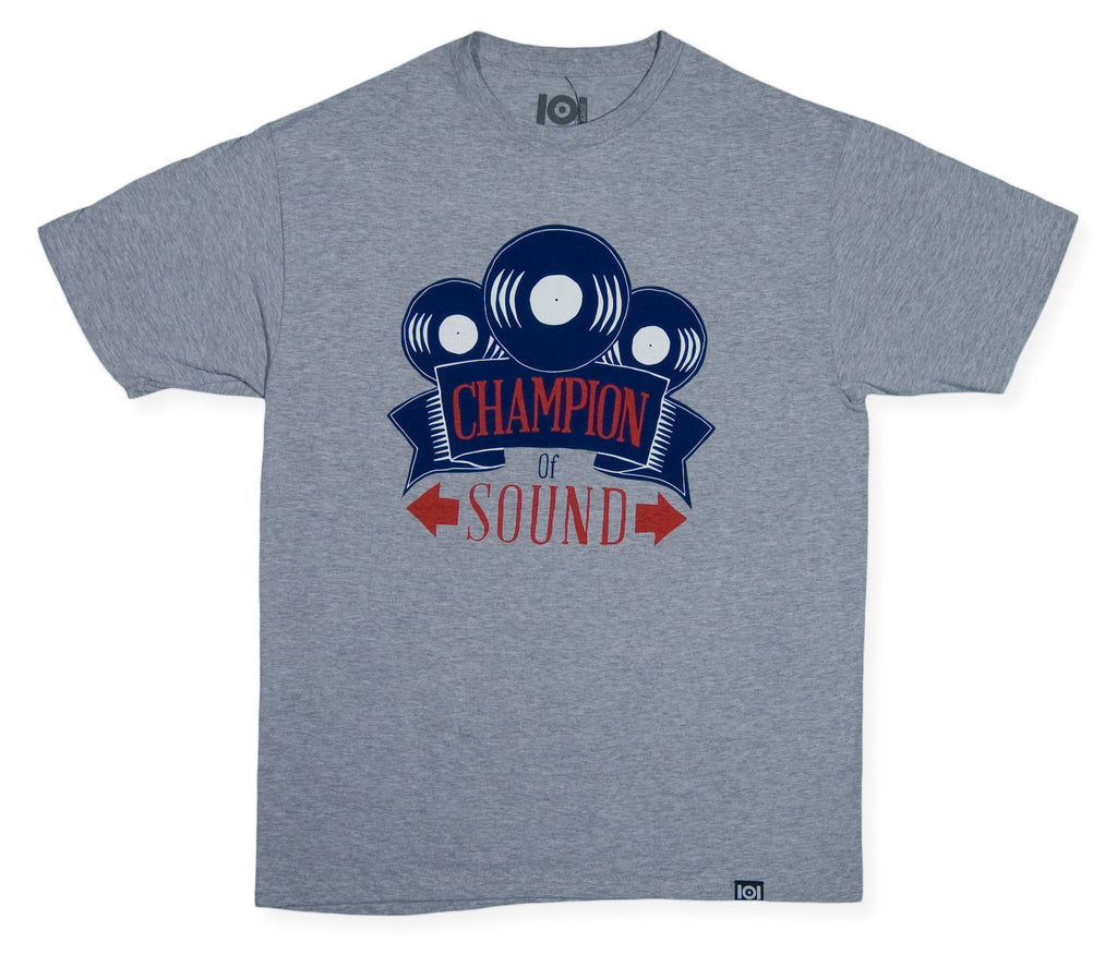 <!--2013122016-->101 Apparel - 'Champion Of Sound' [(Gray) T-Shirt]