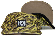 <!--2011101823-->101 Apparel - 'Worldwide Sounds' [(Light Brown) Five Panel Camper Hat]