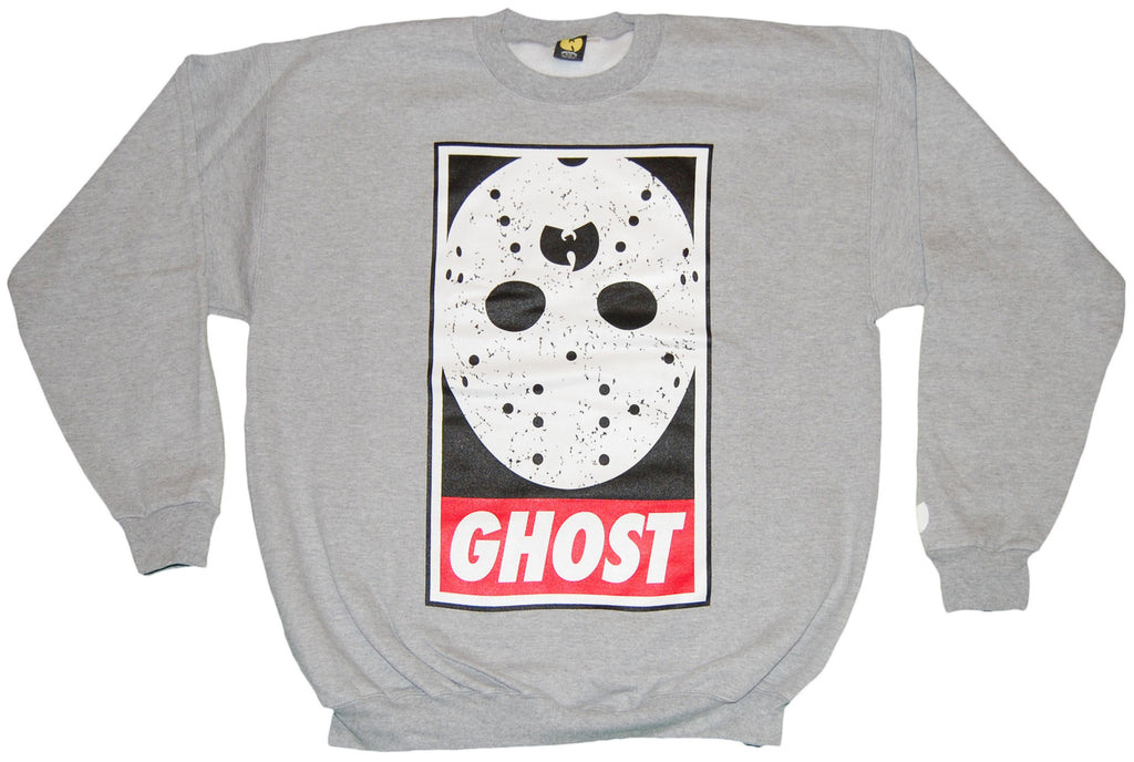 <!--2011112246-->Wu-Tang Brand LTD (Ghostface Killah) - 'Obey Ghost' [(Gray) Crewneck Sweatshirt]