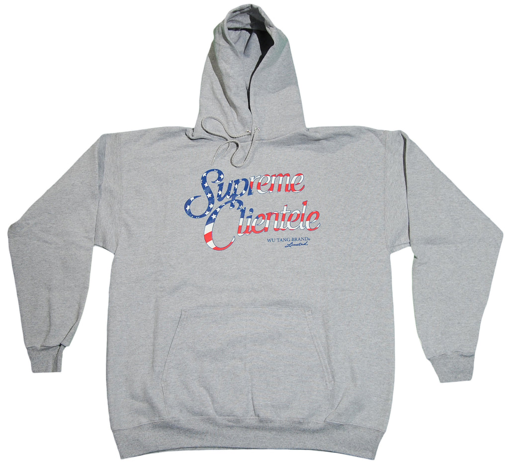<!--2011112210-->Wu-Tang Brand LTD (Ghostface Killah) - 'Supreme Clientele' [(Gray) Hooded Sweatshirt]