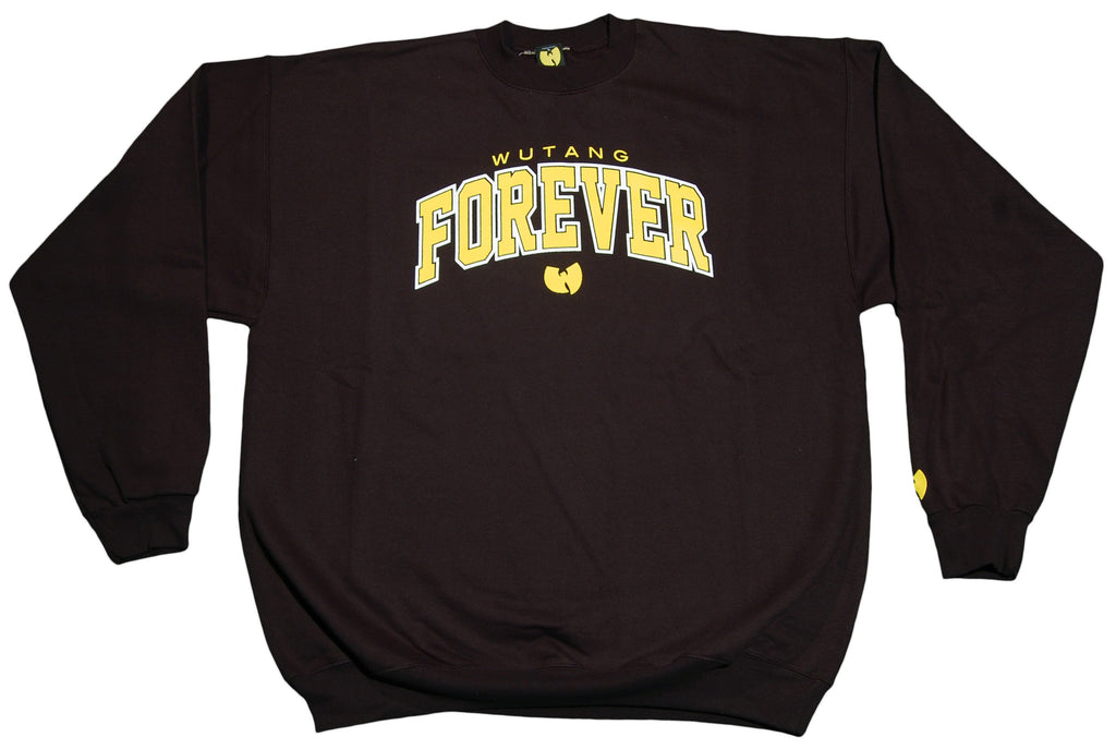 <!--2011112253-->Wu-Tang Brand LTD - 'Forever - Black & Yellow' [(Black) Crewneck Sweatshirt]