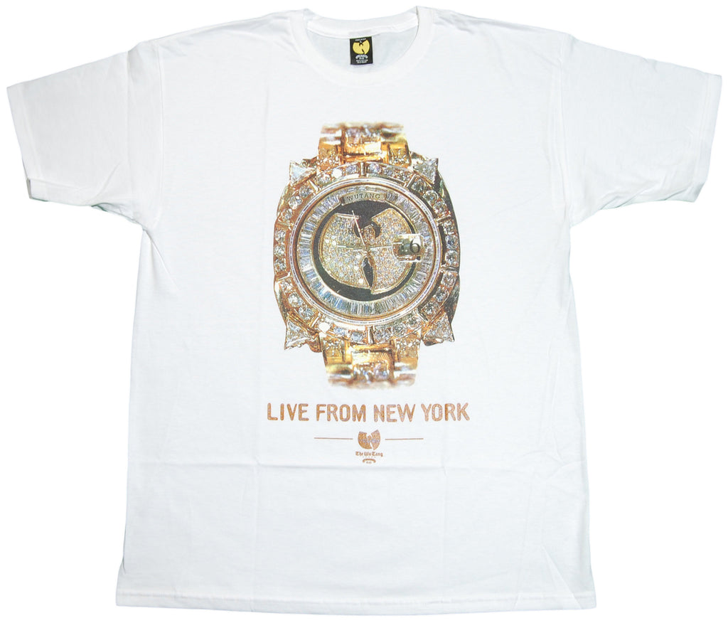 <!--2011112232-->Wu-Tang Brand LTD - 'Wu Watch' [(White) T-Shirt]