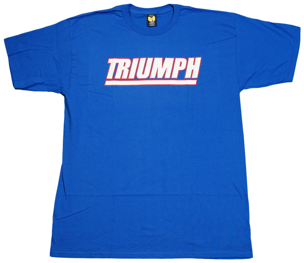 <!--2011112252-->Wu-Tang Brand LTD - 'Triumph' [(Blue) T-Shirt]