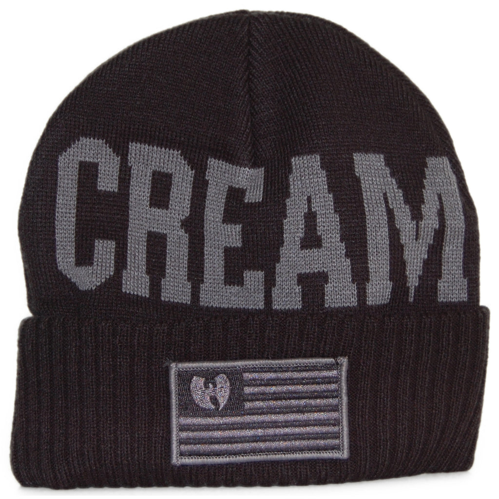 b375a7501e5 Wu-Tang Brand LTD - C.R.E.A.M. Team - Black Winter Beanie Hat