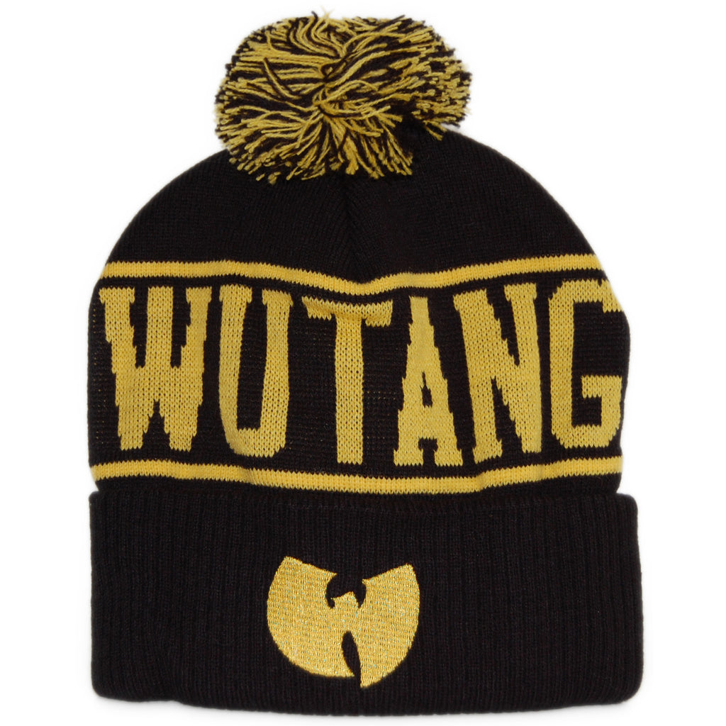 Wu-Tang Brand LTD - Wu-Tang OG - Black Winter Beanie Hat 716a9e32dea8