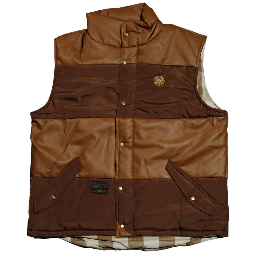 <!--2011101843-->Rocksmith - 'Tactical Padded' [(Brown) Vest]