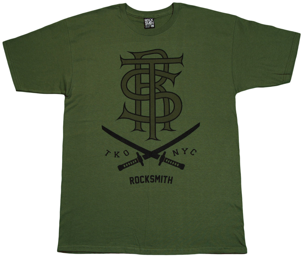 <!--2011101802-->Rocksmith - 'RST Troop' [(Dark Green) T-Shirt]