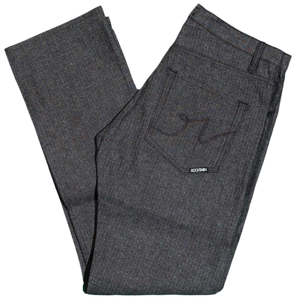 <!--2011112237-->Rocksmith - 'Signature Herringbone - Regular Fit' [(Dark Gray) Jeans]