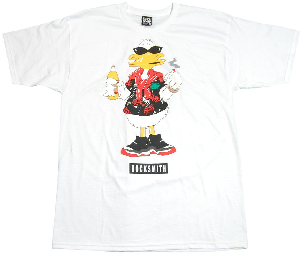 <!--2011061427-->Rocksmith - 'Duck Swag' [(White) T-Shirt]