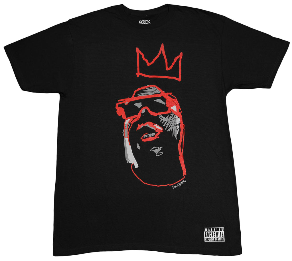 <!--2012051541-->Rocksmith (The Notorious B.I.G.) - 'Notorious 81 - Black/ Red' [(Black) T-Shirt]