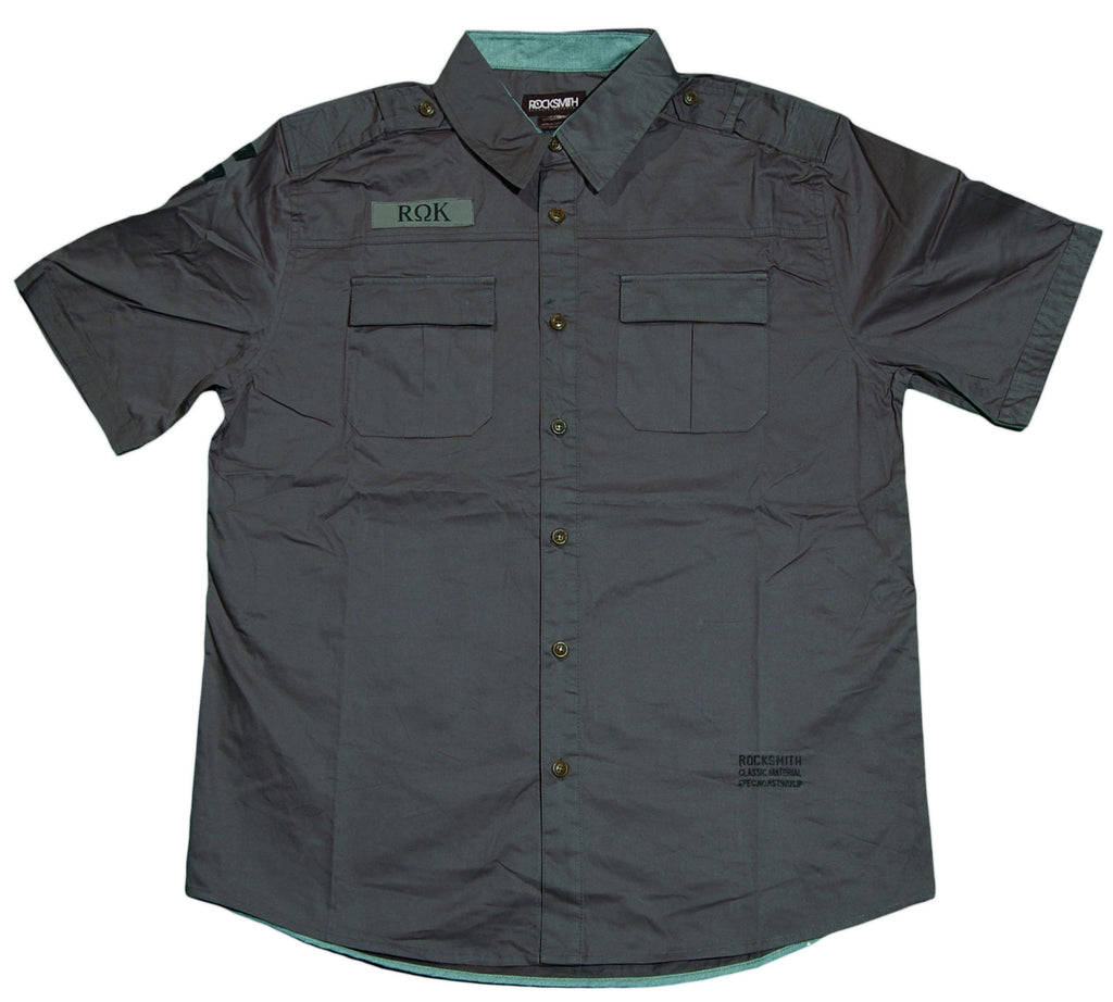 <!--2012020713-->Rocksmith - 'Ninja Squad' [(Dark Gray) Button Down Shirt]