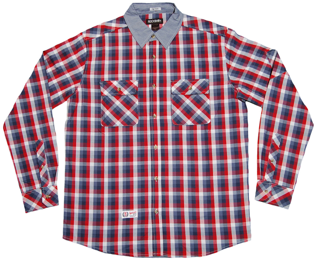 <!--2012020743-->Rocksmith - 'Rock Lauren' [(Blue) Button Down Shirt]