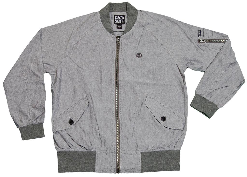 <!--2012020709-->Rocksmith - 'Ninja Squad Flight' [(Light Gray) Jacket]