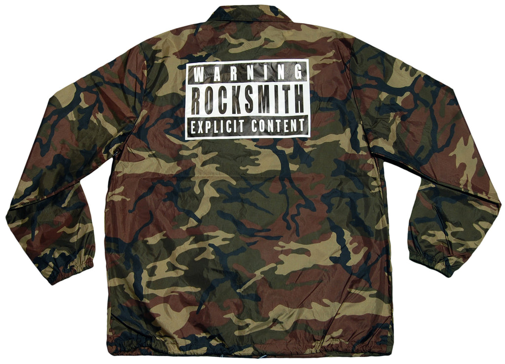 <!--2012020722-->Rocksmith - 'Explicit Coach' [(Camo Pattern) Jacket]
