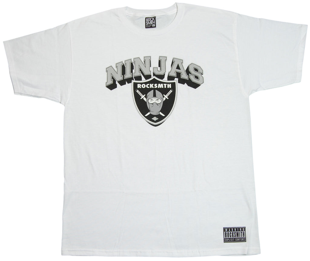 <!--2012020723-->Rocksmith - 'Ninja Crest' [(White) T-Shirt]