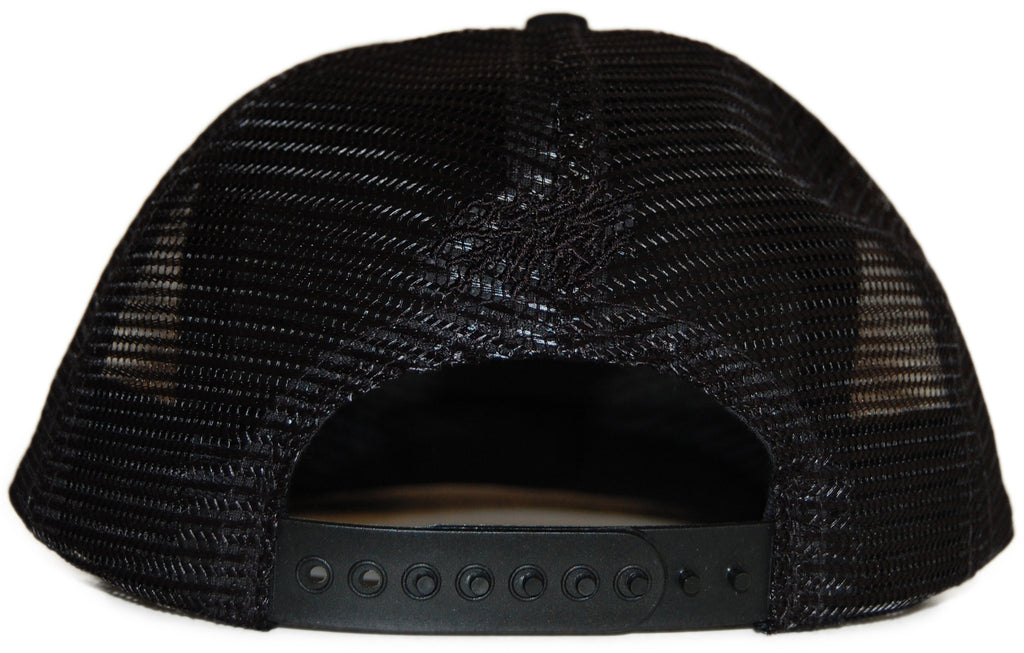 <!--2012020700-->Rocksmith - 'Ninjas Crest Trucker' [(Black) Snap Back Hat]