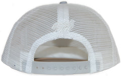 <!--020120207041002-->Rocksmith - 'Ninjas Crest Trucker' [(White) Snap Back Hat]