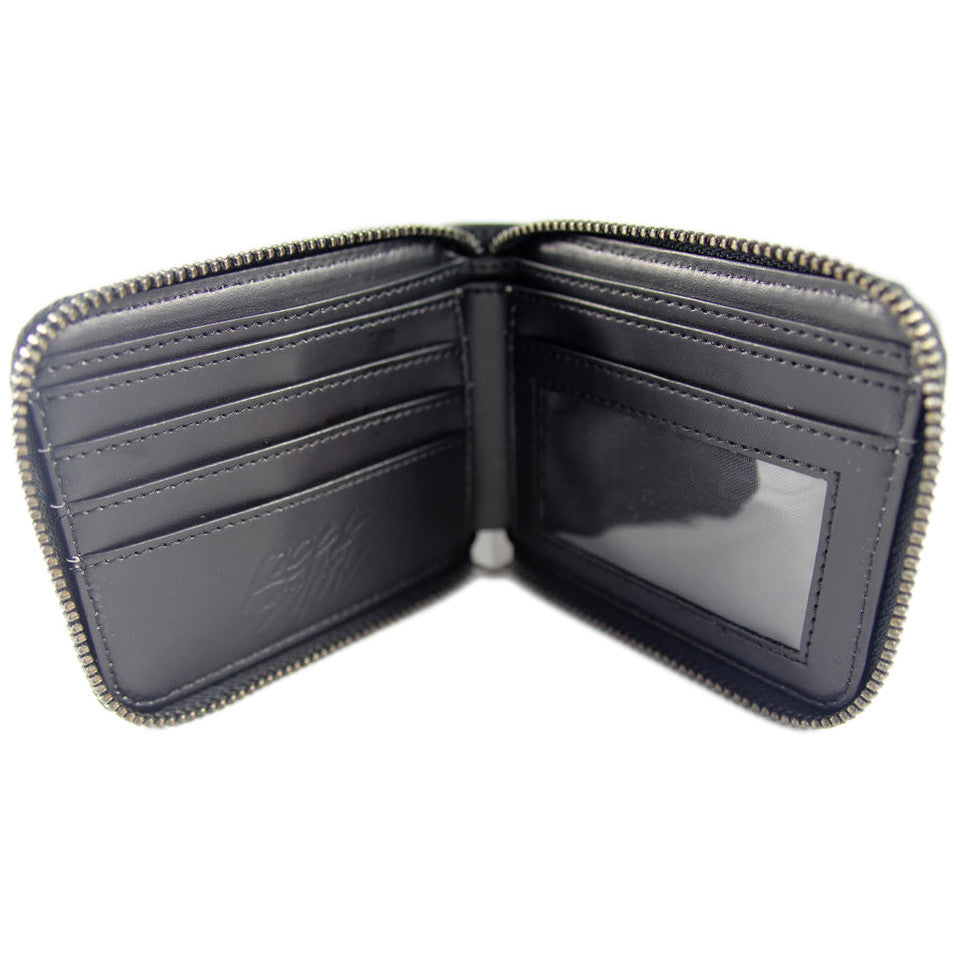 <!--020120207041004-->Rocksmith - 'Explicit Zip' [(Black) Wallet]