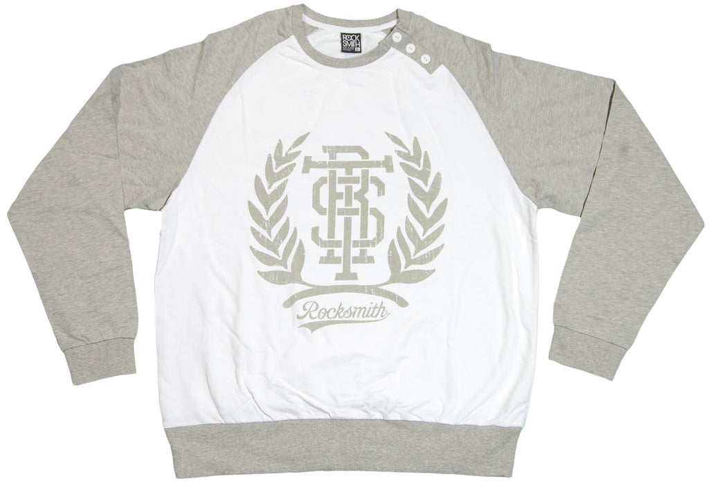<!--2012032029-->Rocksmith - 'Trilogy' [(Gray) Crewneck Sweatshirt]