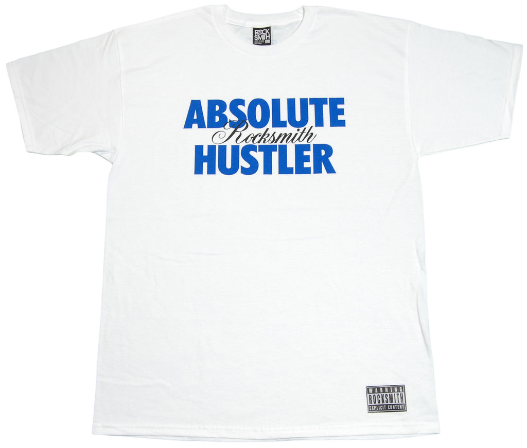 <!--2012032006-->Rocksmith - 'Hustler' [(White) T-Shirt]