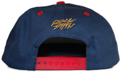 <!--020120410043586-->Rocksmith - 'Head Ninja' [(Dark Blue) Snap Back Hat]
