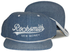 <!--020120410043588-->Rocksmith - 'Detroit' [(Light Blue) Snap Back Hat]