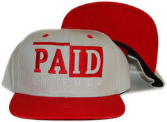 <!--020120410043584-->Rocksmith - 'Paid In Full' [(Light Brown) Snap Back Hat]