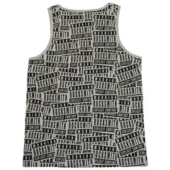 <!--2012060547-->Rocksmith - 'Explicit Scatter' [(Gray) Tank Top]