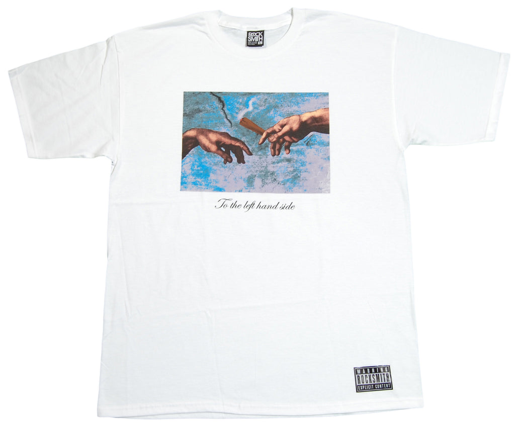 <!--2012060522-->Rocksmith - 'Dutchie' [(White) T-Shirt]