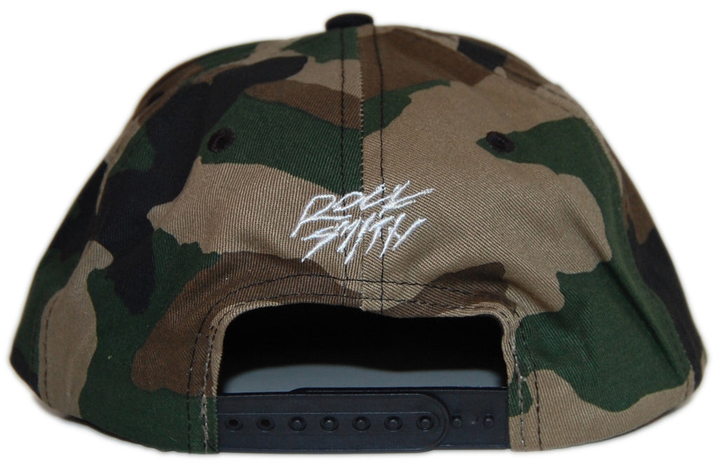 <!--020120626046406-->Rocksmith - 'Flyer' [(Camo Pattern) Snap Back Hat]
