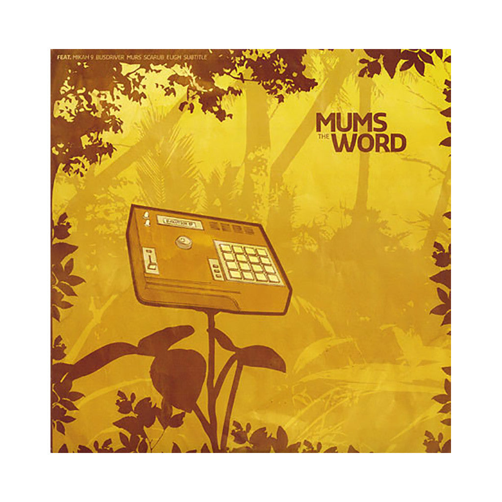<!--020050920020112-->Mums The Word - 'Evolution EP' [(Black) Vinyl EP]