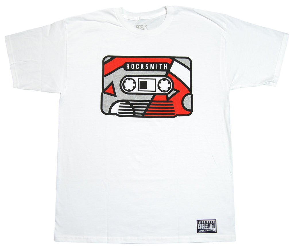 <!--2012081448-->Rocksmith - 'Mixtape' [(White) T-Shirt]