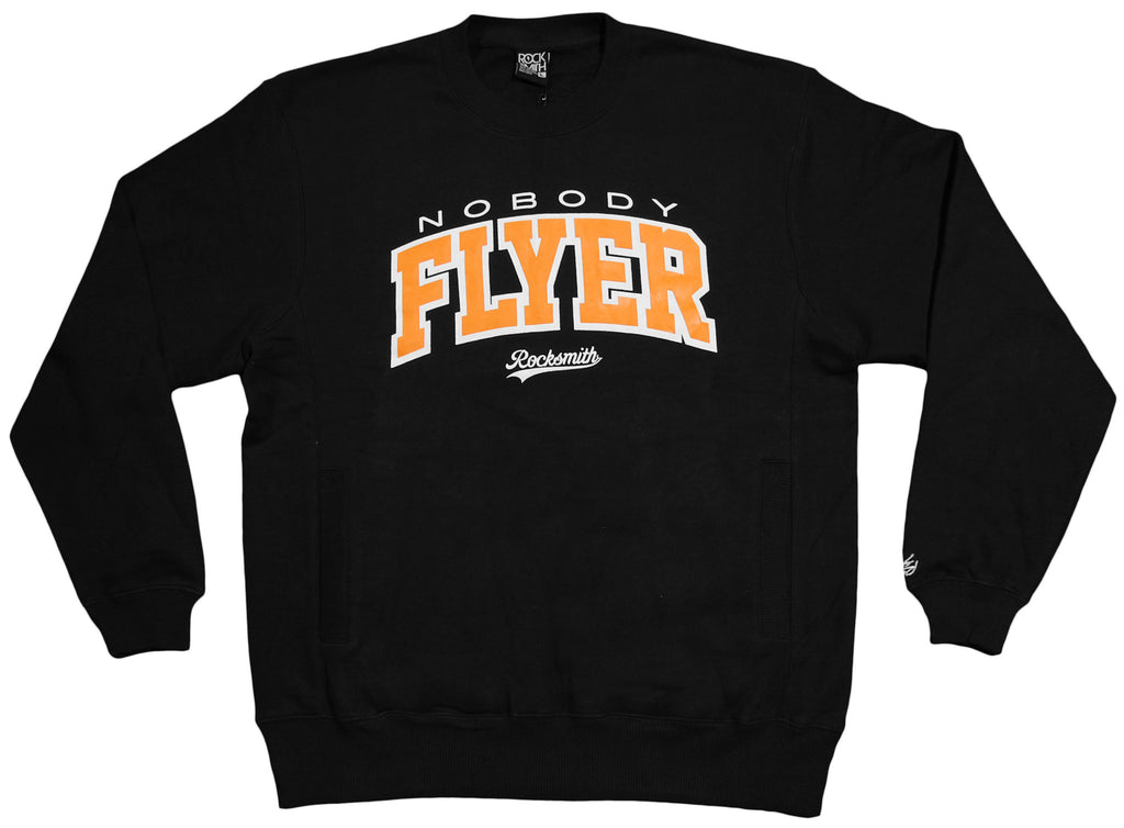 <!--2012103048-->Rocksmith - 'Nobody Flyer' [(Black) Crewneck Sweatshirt]
