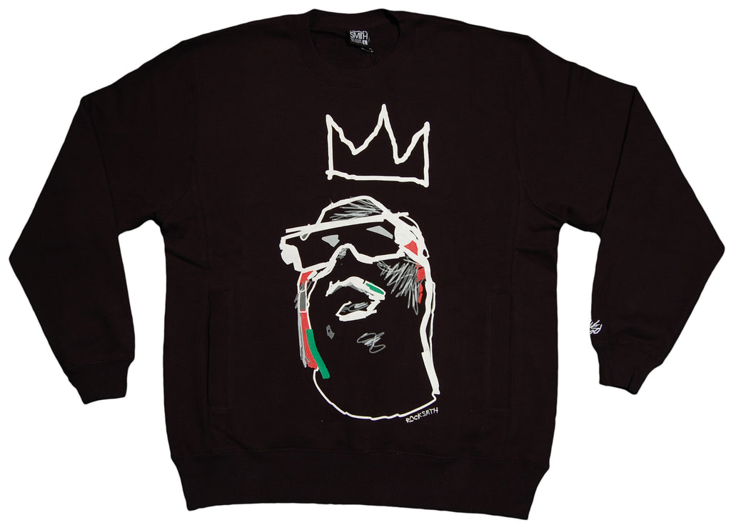 <!--2012103039-->Rocksmith - 'Notorious 81' [(Black) Crewneck Sweatshirt]