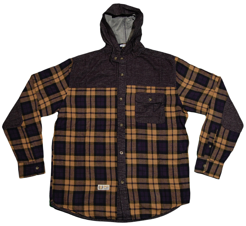 <!--2012103014-->Rocksmith - 'Paragon Hooded Flannel' [(Dark Blue) Button Down Shirt]