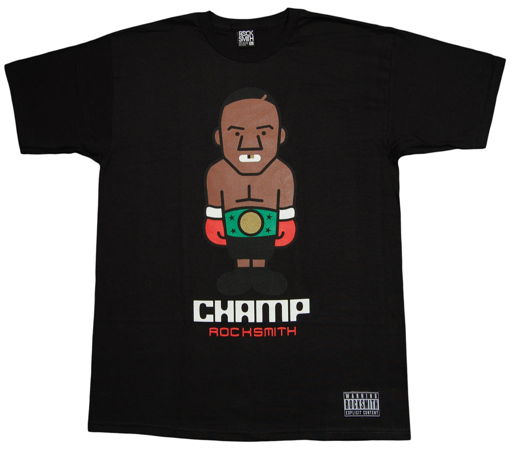 <!--2012103027-->Rocksmith - 'The Champ' [(Black) T-Shirt]