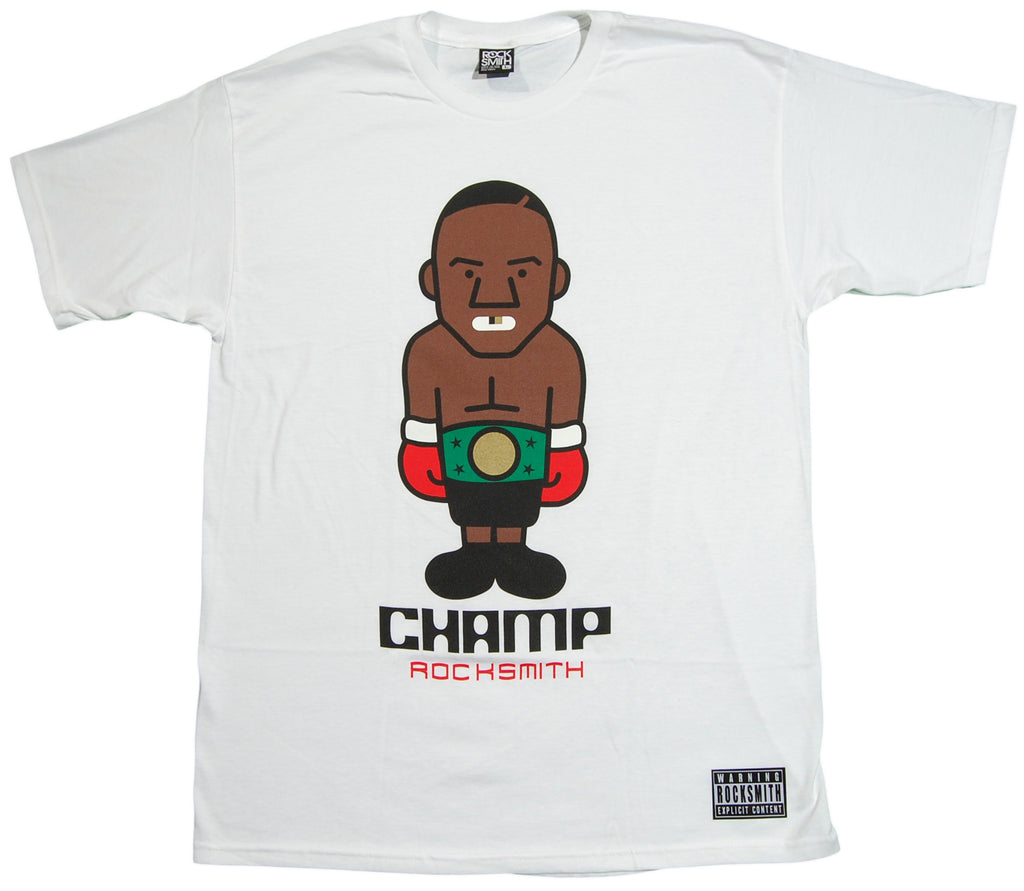 <!--2012103021-->Rocksmith - 'The Champ' [(White) T-Shirt]
