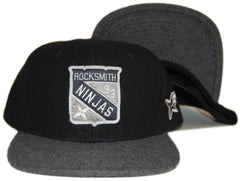 <!--2012103048-->Rocksmith - 'Enforcer' [(Black) Snap Back Hat]